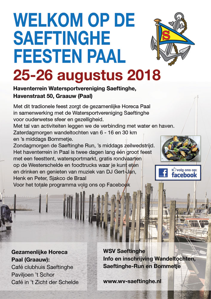 Saeftinghe Feesten Paal 2018